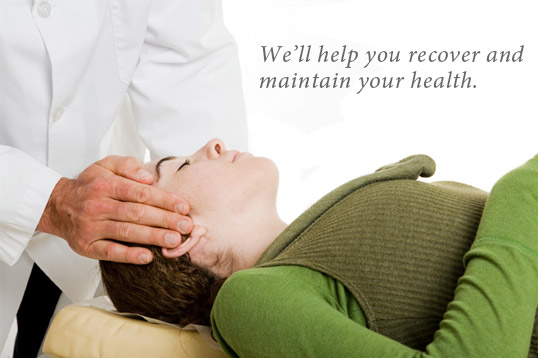 We'll help you recover and maintain your health